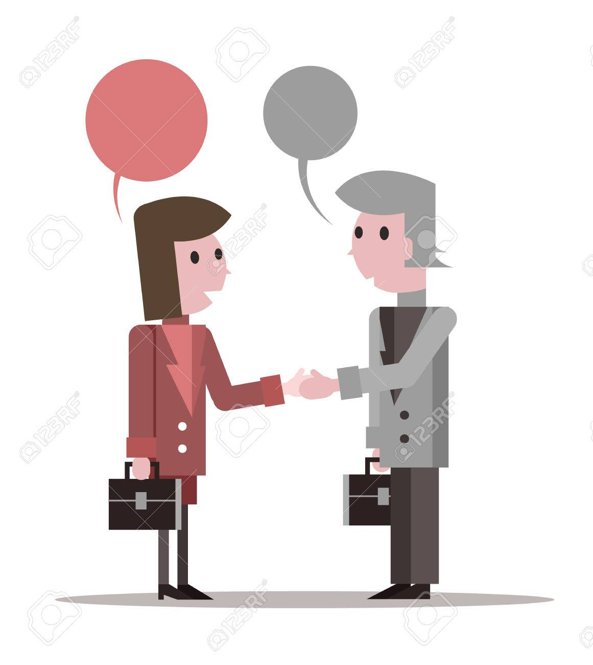 4,678 People Shaking Hands Stock Vector Illustration And Royalty ...
