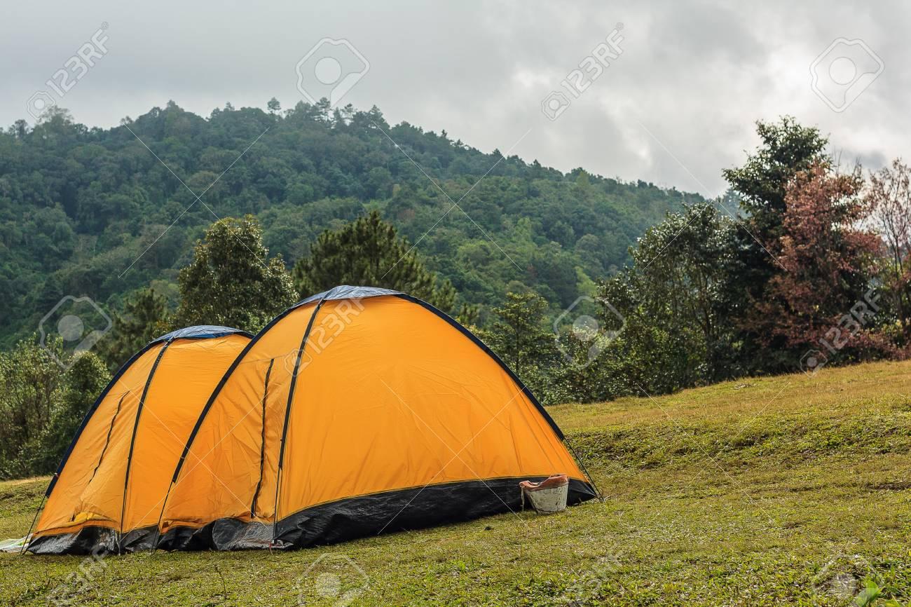 Travel Outdoor Tent,tourism Background Royalty Free Stok Fotoğraf,  Resimler, Görseller Ve Stok Fotoğrafçılık. Image 111924571.