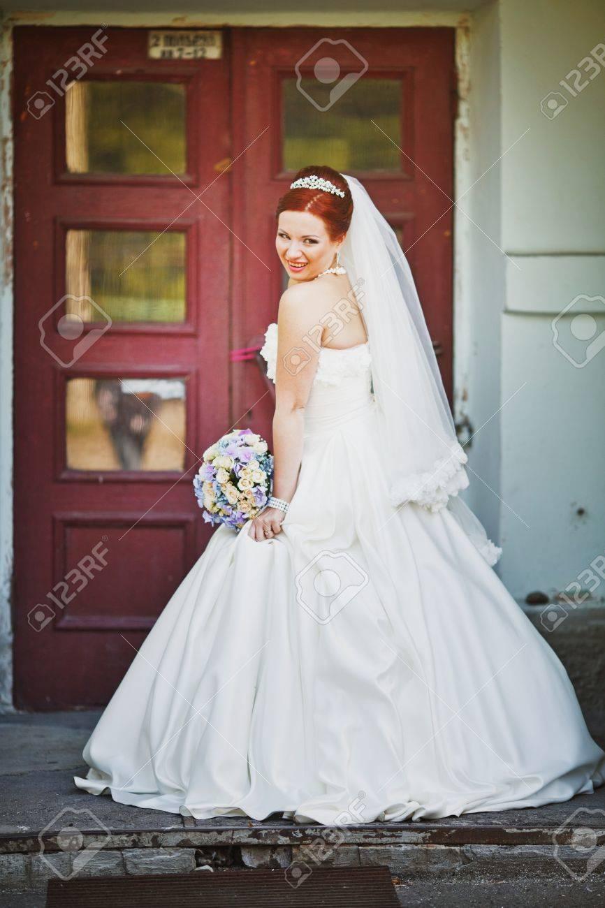 El vestido blanco de novia