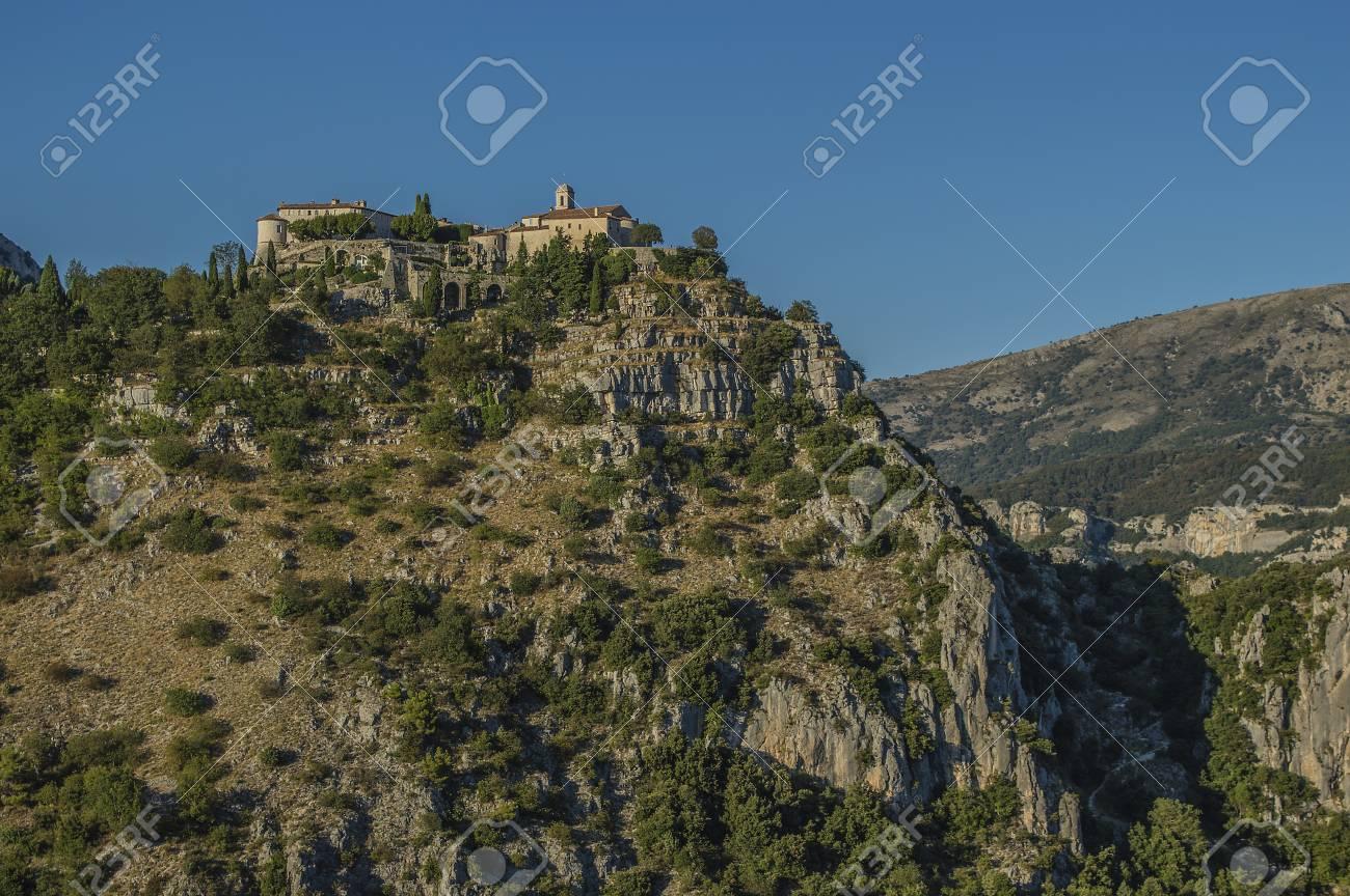 Small village Gourdon in France - 22165705