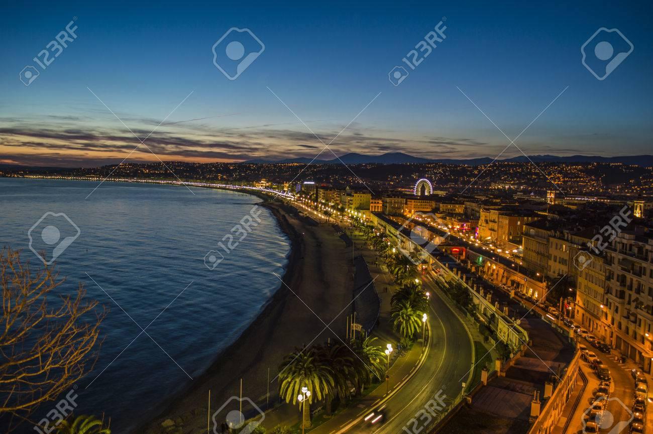 City of Nice by night - 26258266
