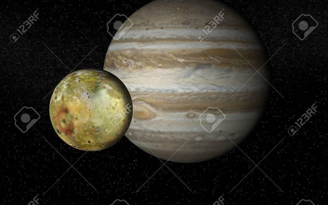 Io and Jupiter - 29866772