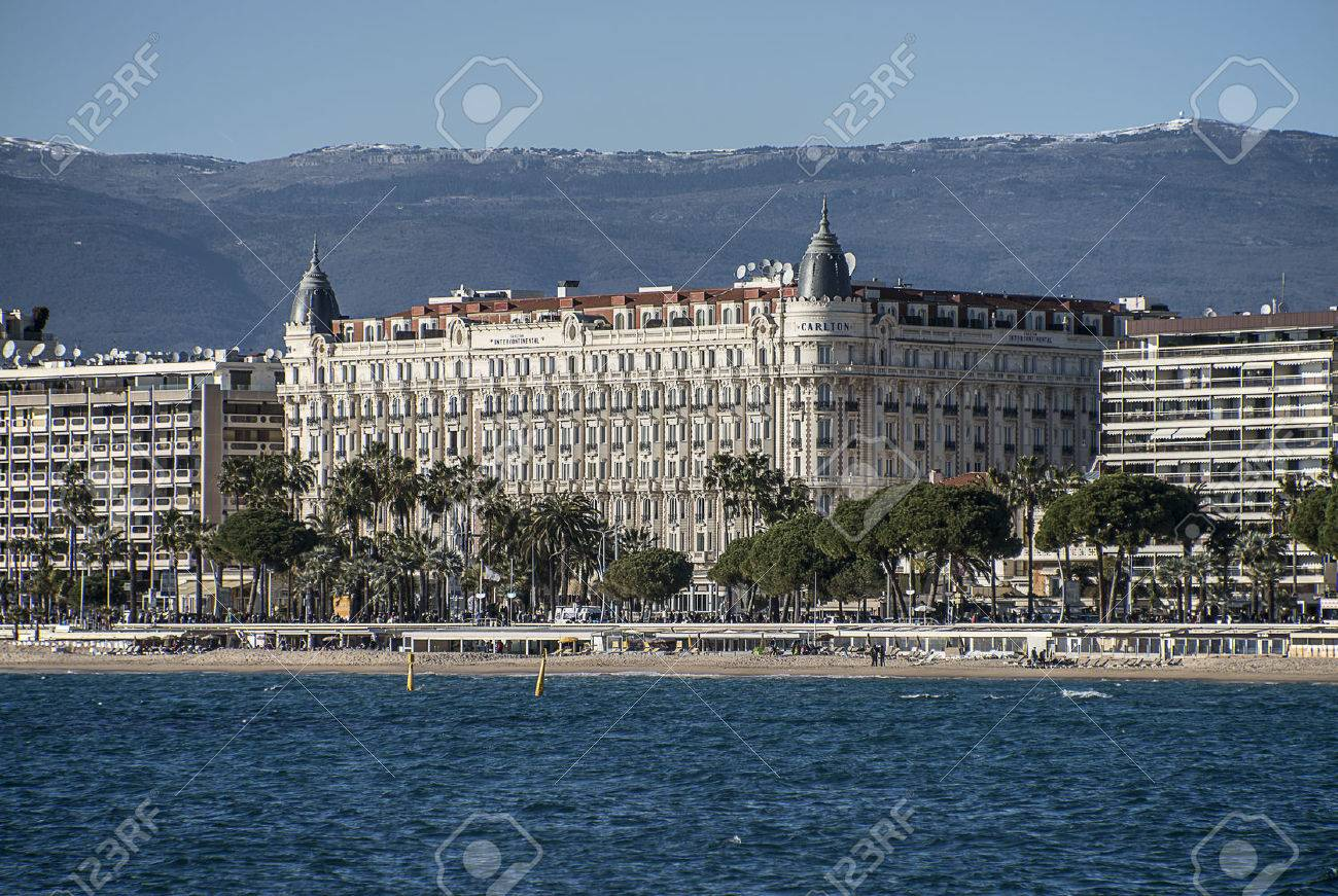 Hotel Carlton viewed from the sea - 37302819