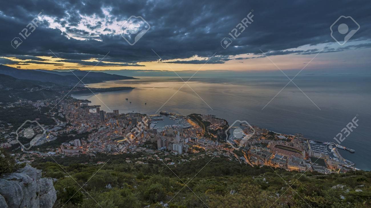 Monaco sunrise - 41066119