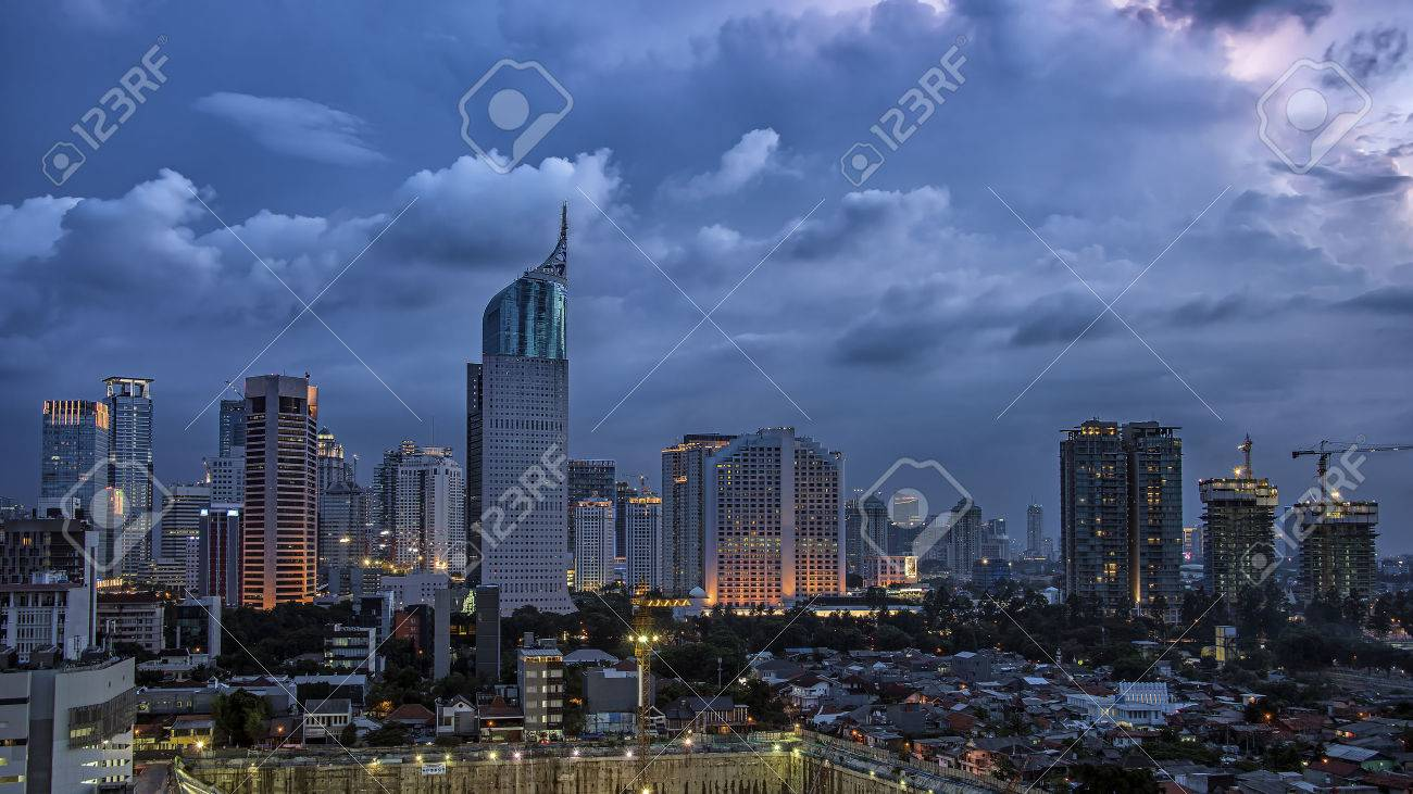Jakarta city panorama - 51107114