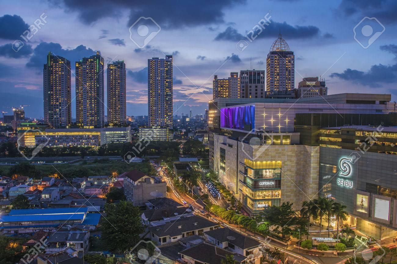 Jakarta city downtown - 51107115