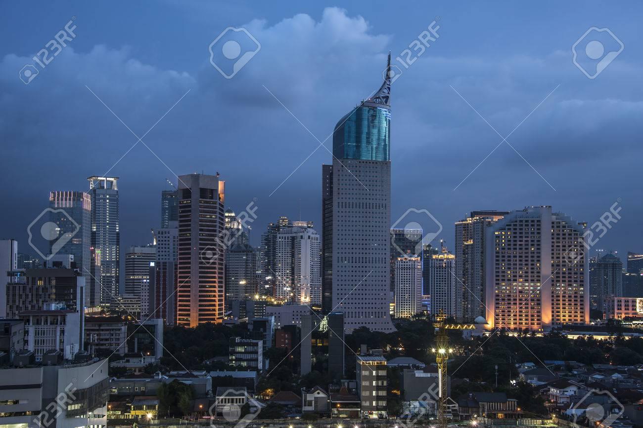 Jakarta city panorama - 51107116