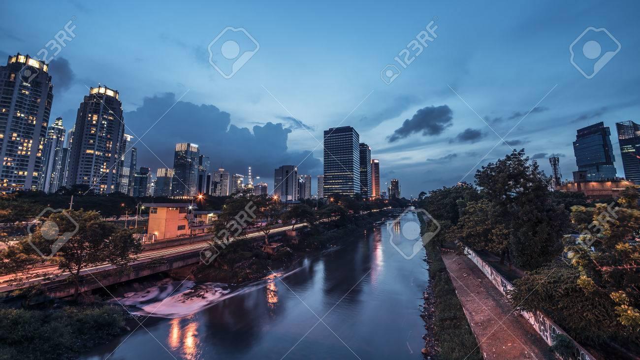 Jakarta city panorama - 51107214