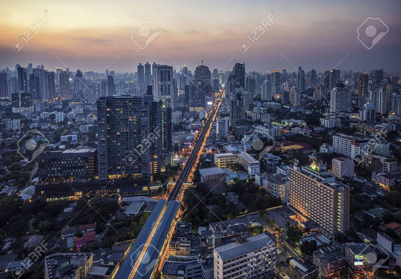Sukhumvit district in Bangkok - 59645022