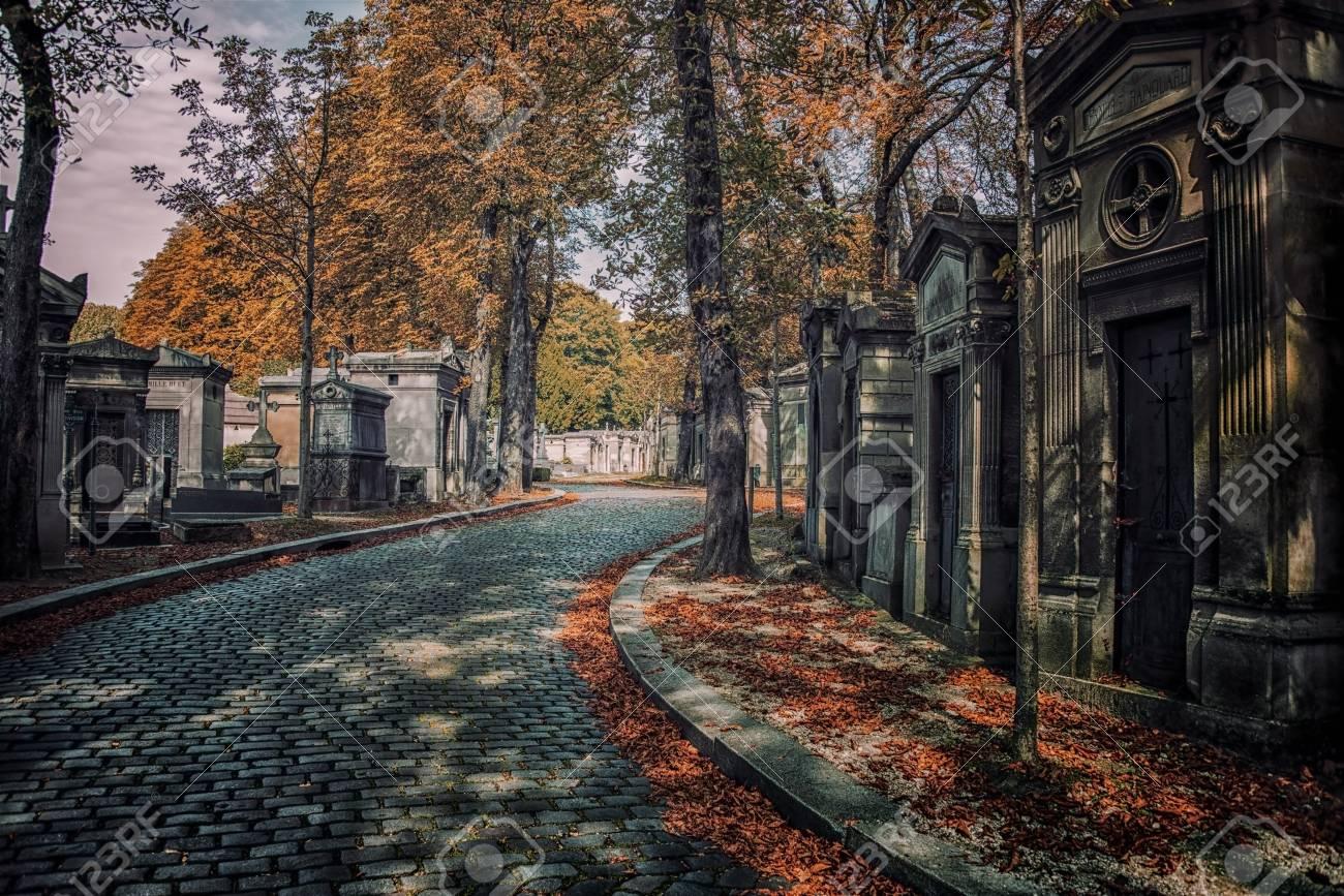 Pere Lachaise cemetery in Paris - 66951487