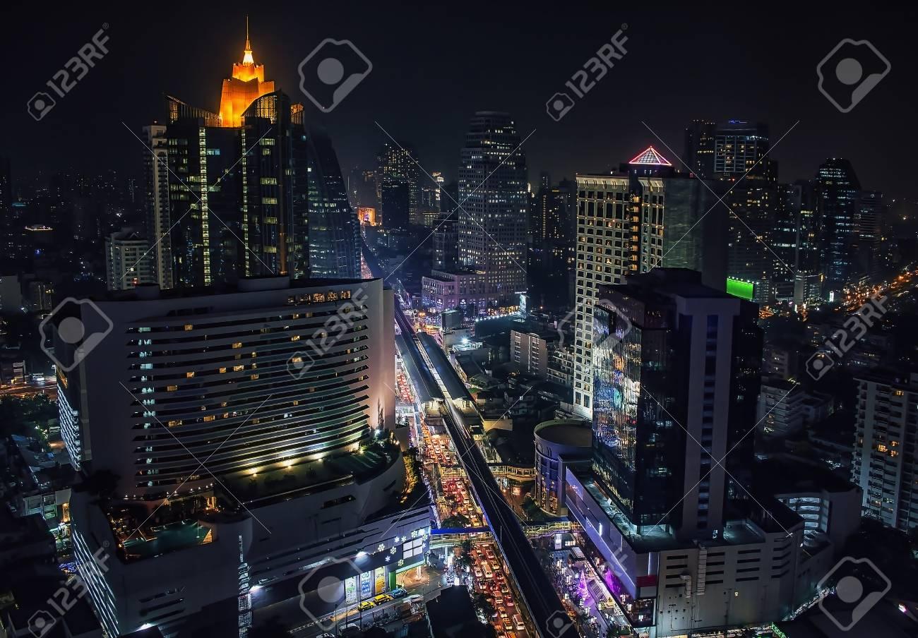 Sukhumvit Road in Bangkok - 75863176