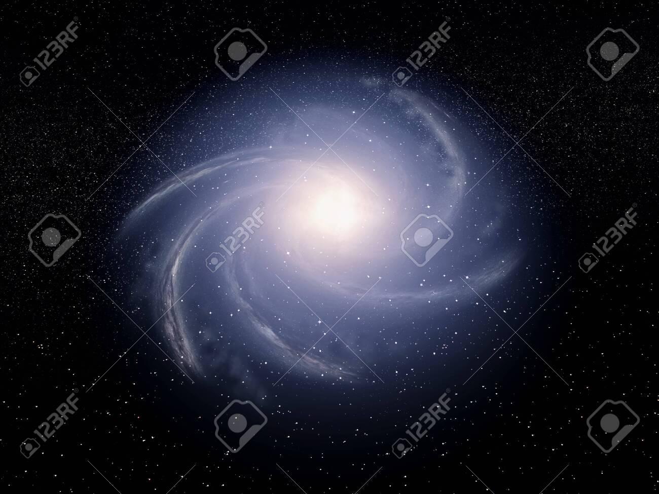 Artist view of a galaxy - 146300367
