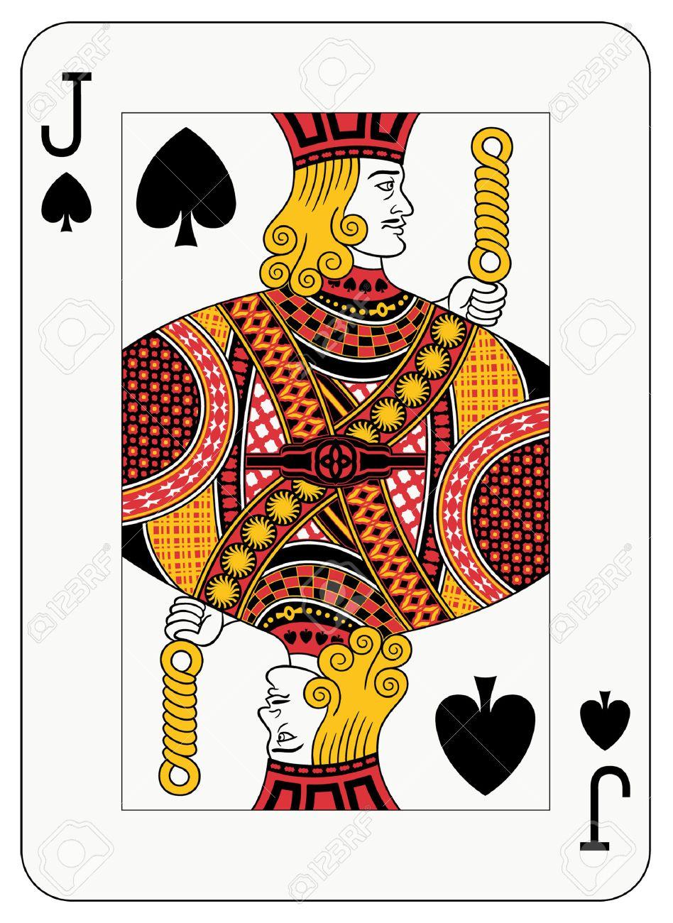 jack of spade card  Jack of spades playing card