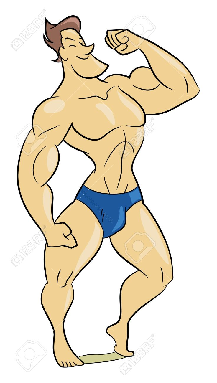 Showing post & media for Cartoon muscle man body | www.cartoonsmix.com