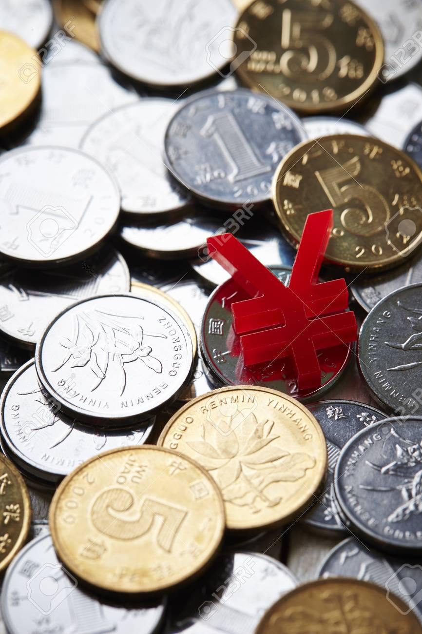 Chinese rmb coins and currency symbol stock photo picture and chinese rmb coins and currency symbol stock photo 74580662 biocorpaavc Gallery