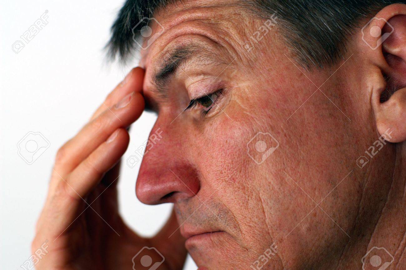 Middle-Aged Man with a worried look - 2730235