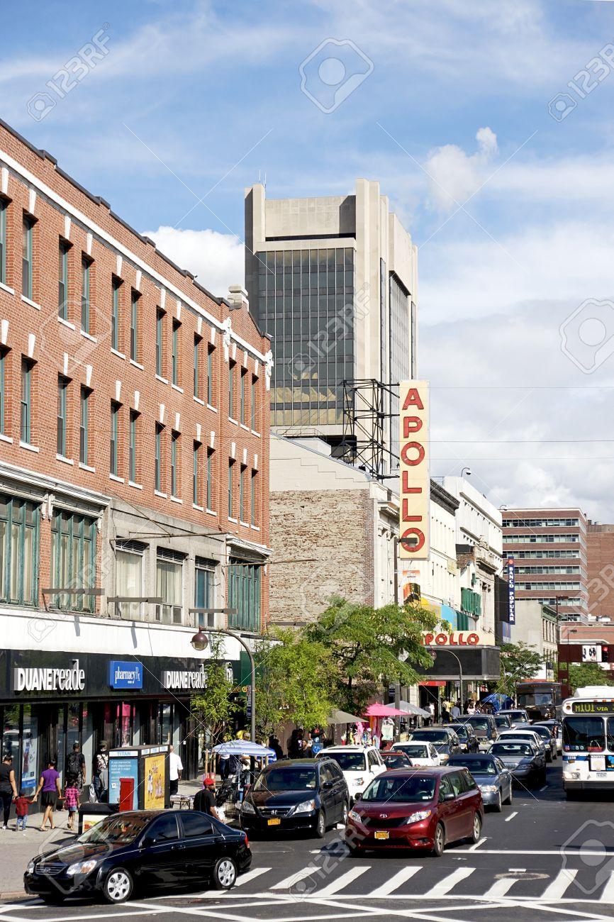 The Apollo Theater  on 125th Street, Harlem  NYC Stock Photo - 10403967