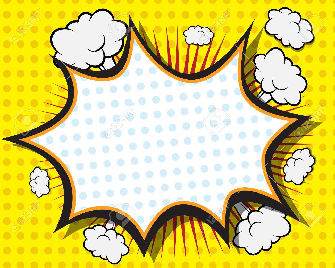 comic book speech bubble pop art background vector illustration rh 123rf com comic book vector background comic book vector border