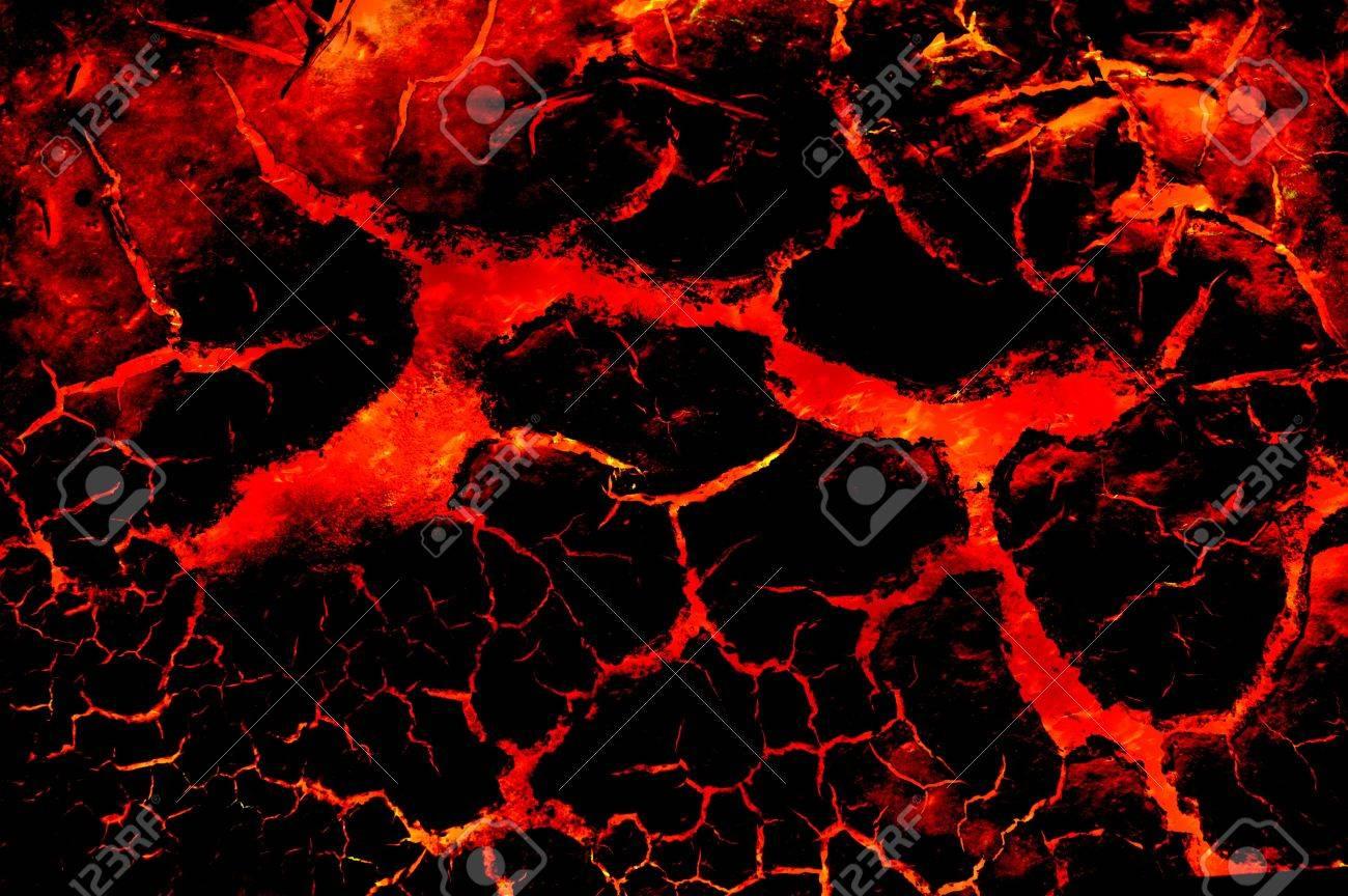 熱い溶岩火抽象的なパターンのイラスト背景 の写真素材画像素材 Image