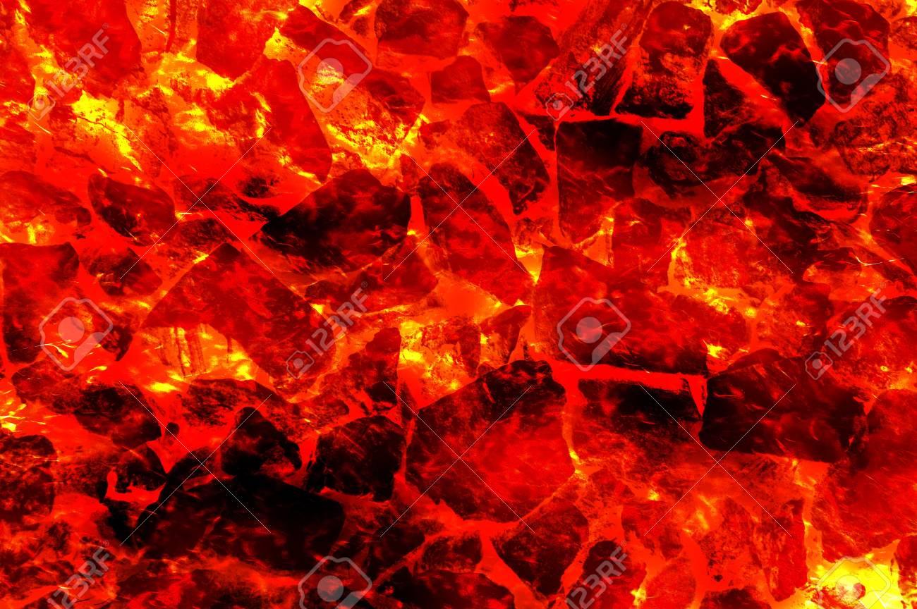 火溶岩抽象的なパターンのイラスト背景 の写真素材画像素材 Image