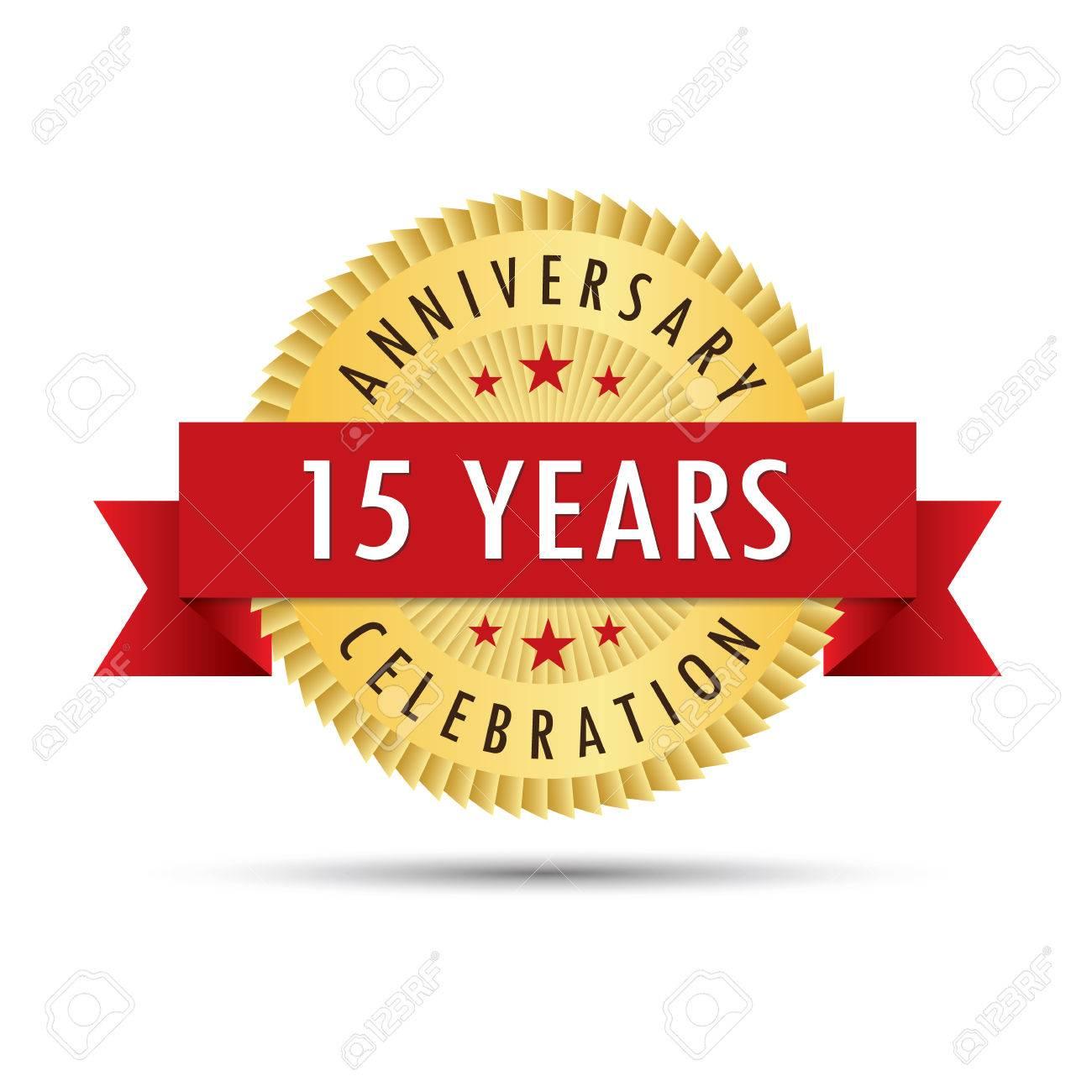 Fifteen Years Anniversary Fifteenth Anniversary Celebration