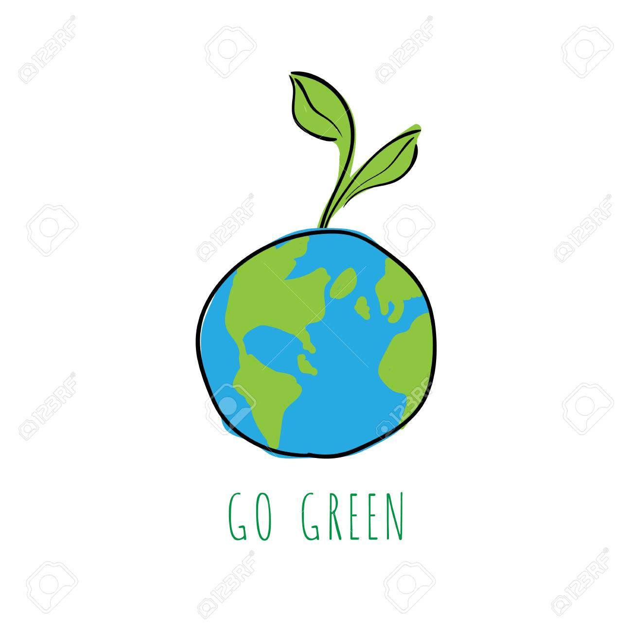 go green logo representing saving earth saving environment rh 123rf com go green logos free go green logo png