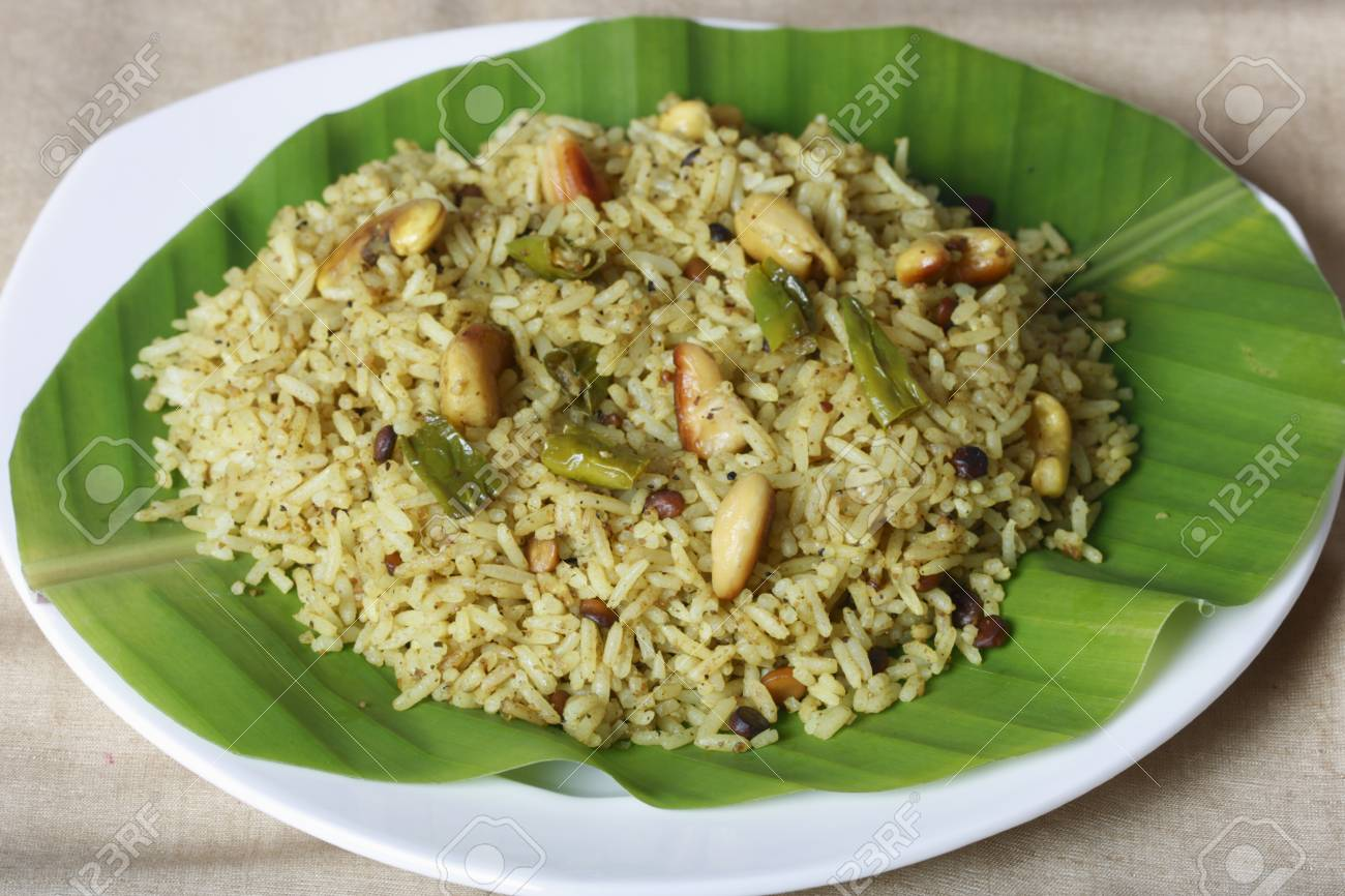 Puli sadam or Tamarind Rice