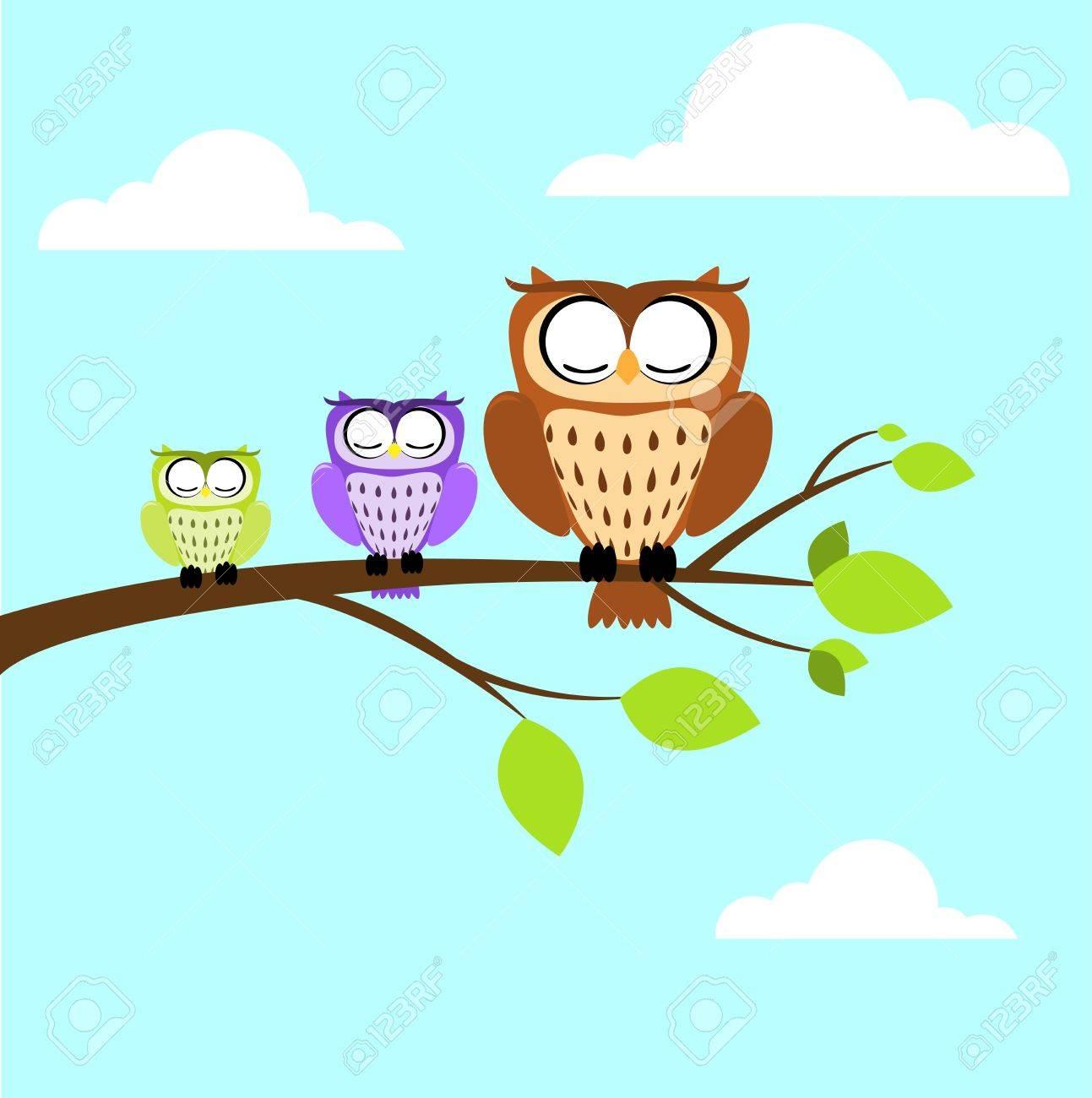 owl Stock Vector - 15456441