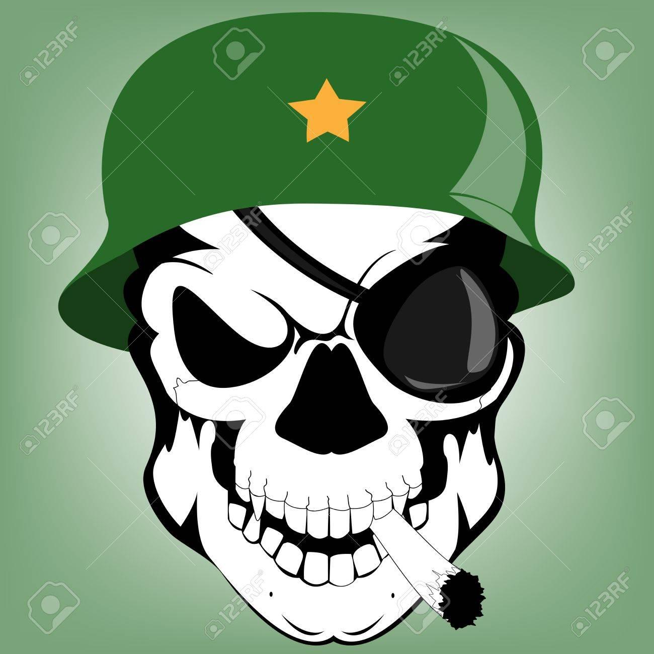skull soldier Stock Vector - 15639851