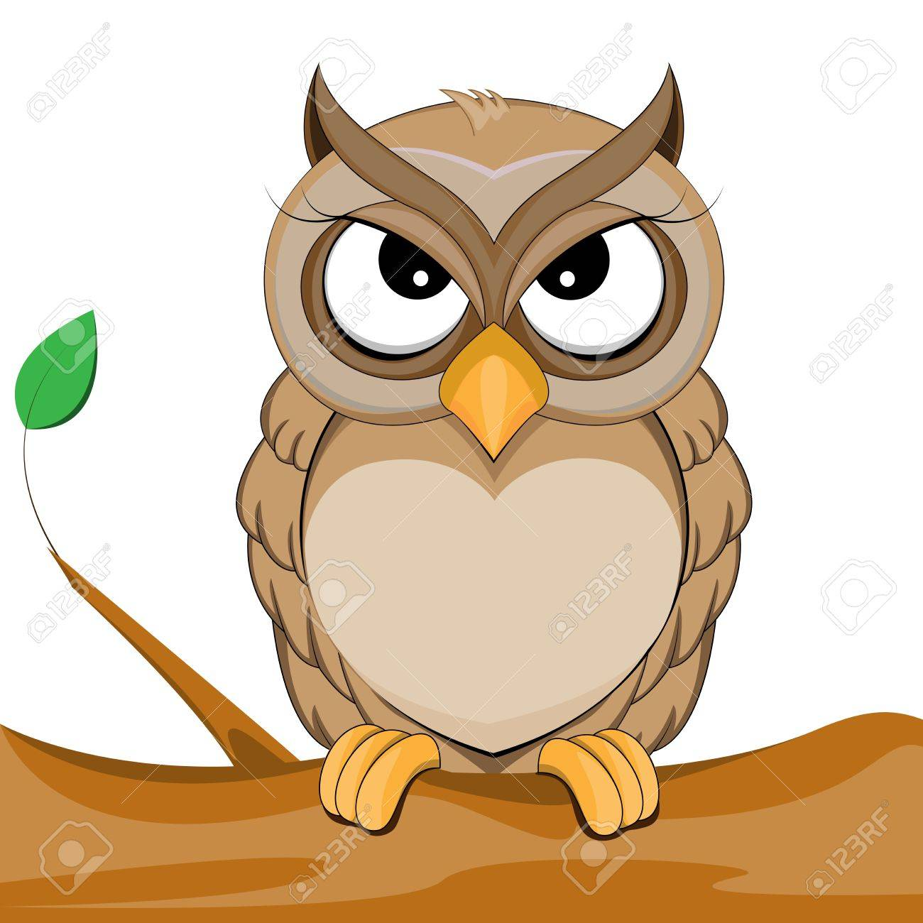 Cute owl vector of illustration royalty free cliparts vectors and cute owl vector of illustration stock vector 20245545 voltagebd Image collections