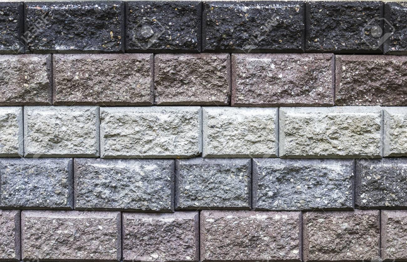 textura del primer y el patrn de muro de bloques de piedra foto de archivo