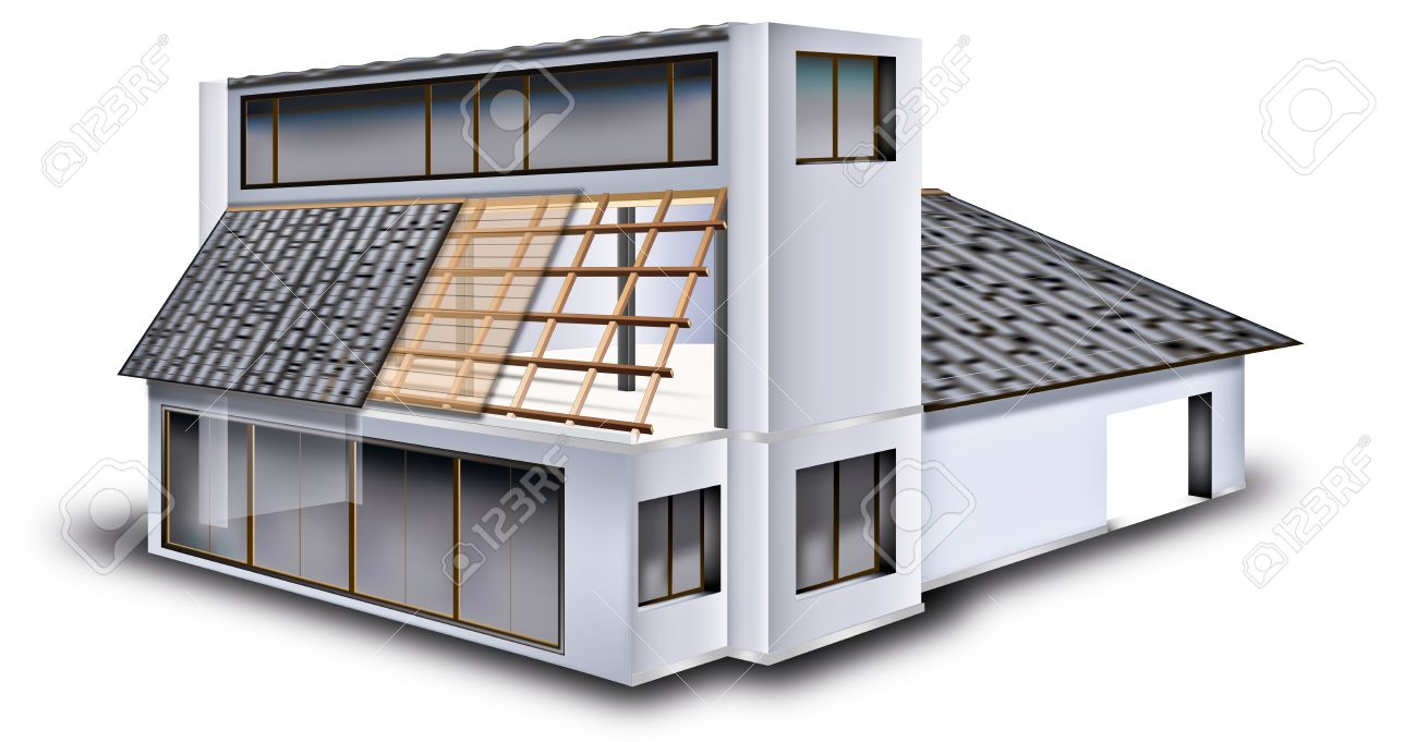 Structure Of Simple House