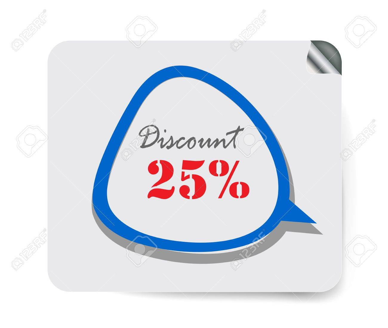 Discount label shopping Stock Vector - 13396281