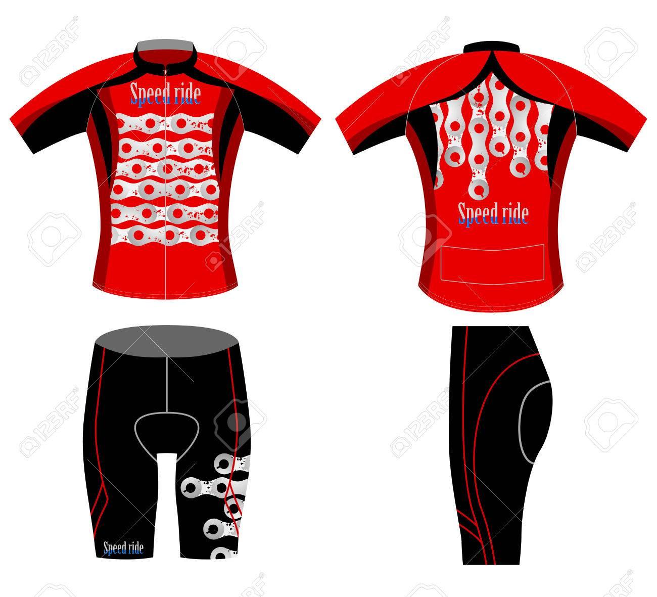 Cyclist Speedsports T Shirt Design On A White Background Royalty