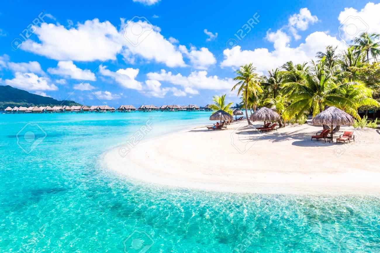 Bora Bora Island, French Polynesia. - 97592674