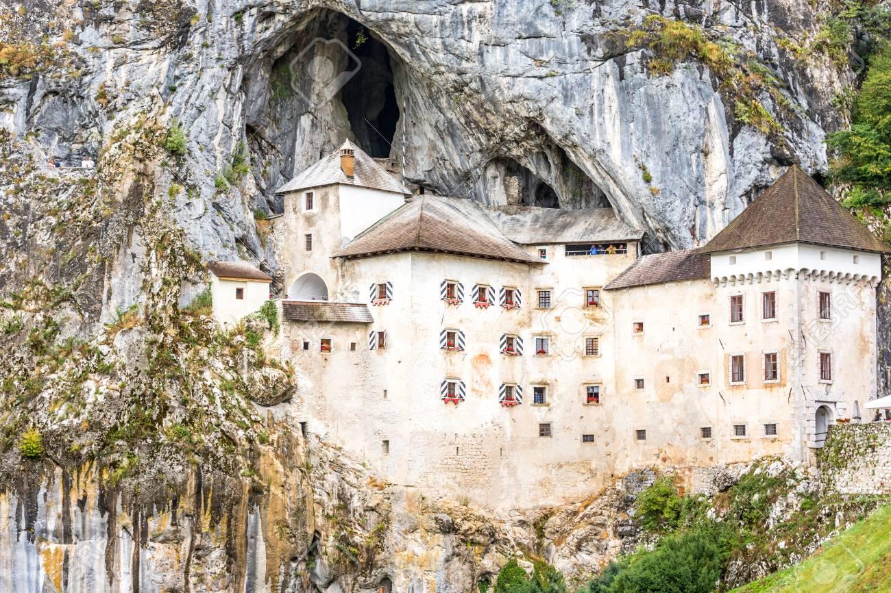 Predjama Approximately 9 Kilometres From Postojna Cave Stock Photo