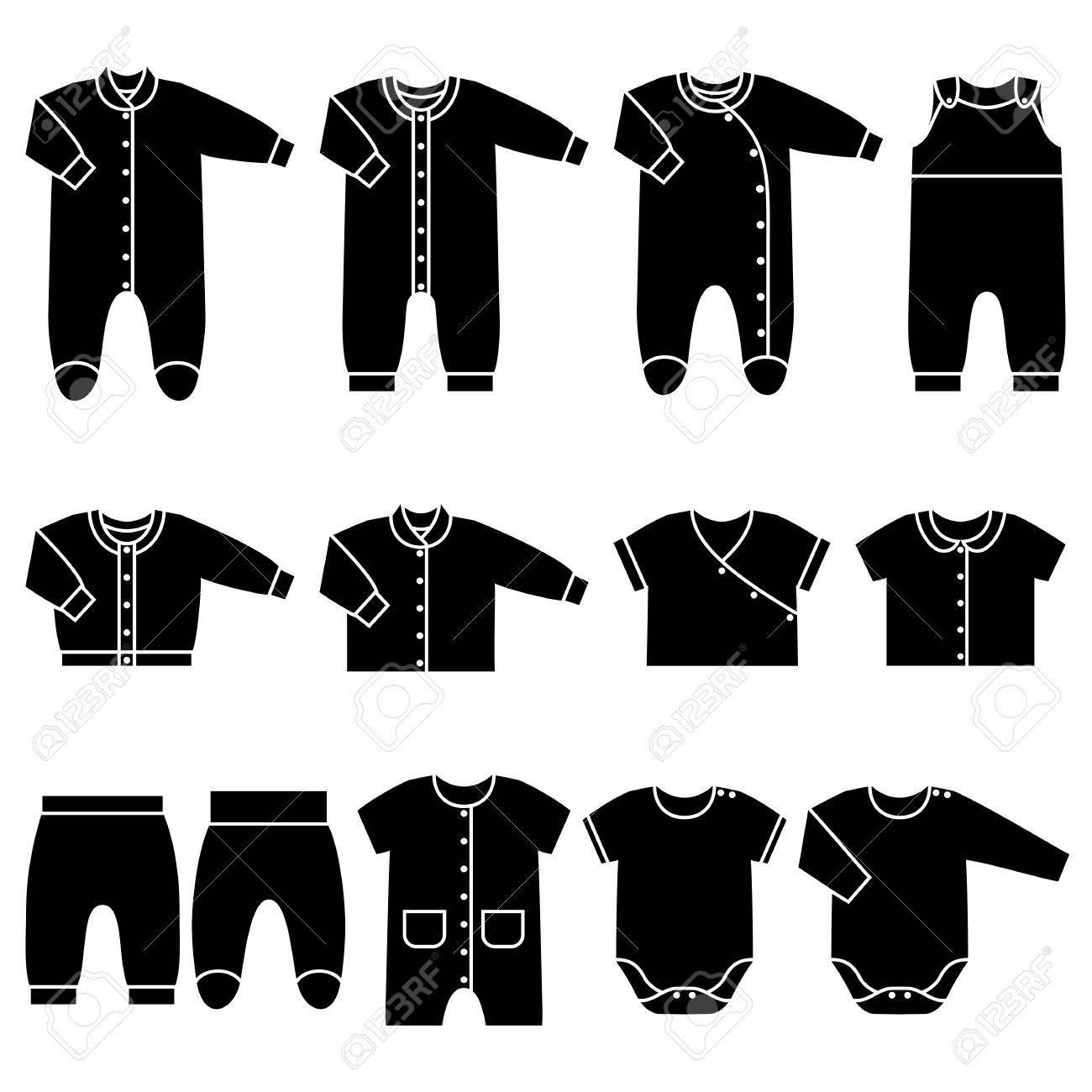 Schwarze jacke baby