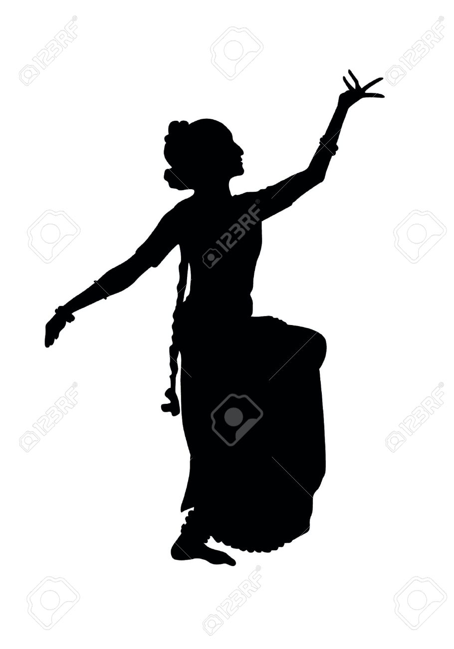 Indian Dancing Royalty Free Cliparts Vectors And Stock Illustration Image 19159708