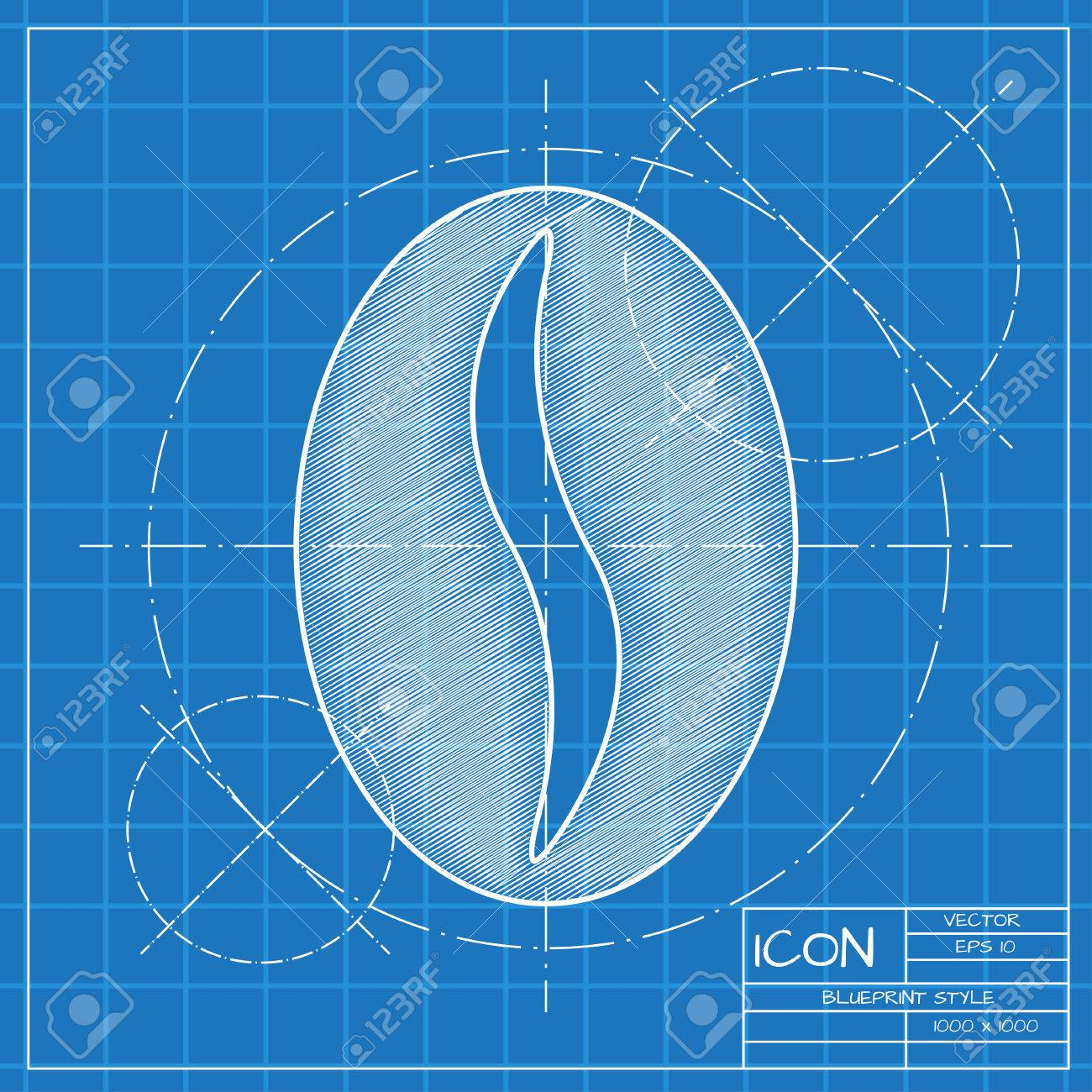 Vector blueprint coffee icon engineer and architect background vector vector blueprint coffee icon engineer and architect background malvernweather Images