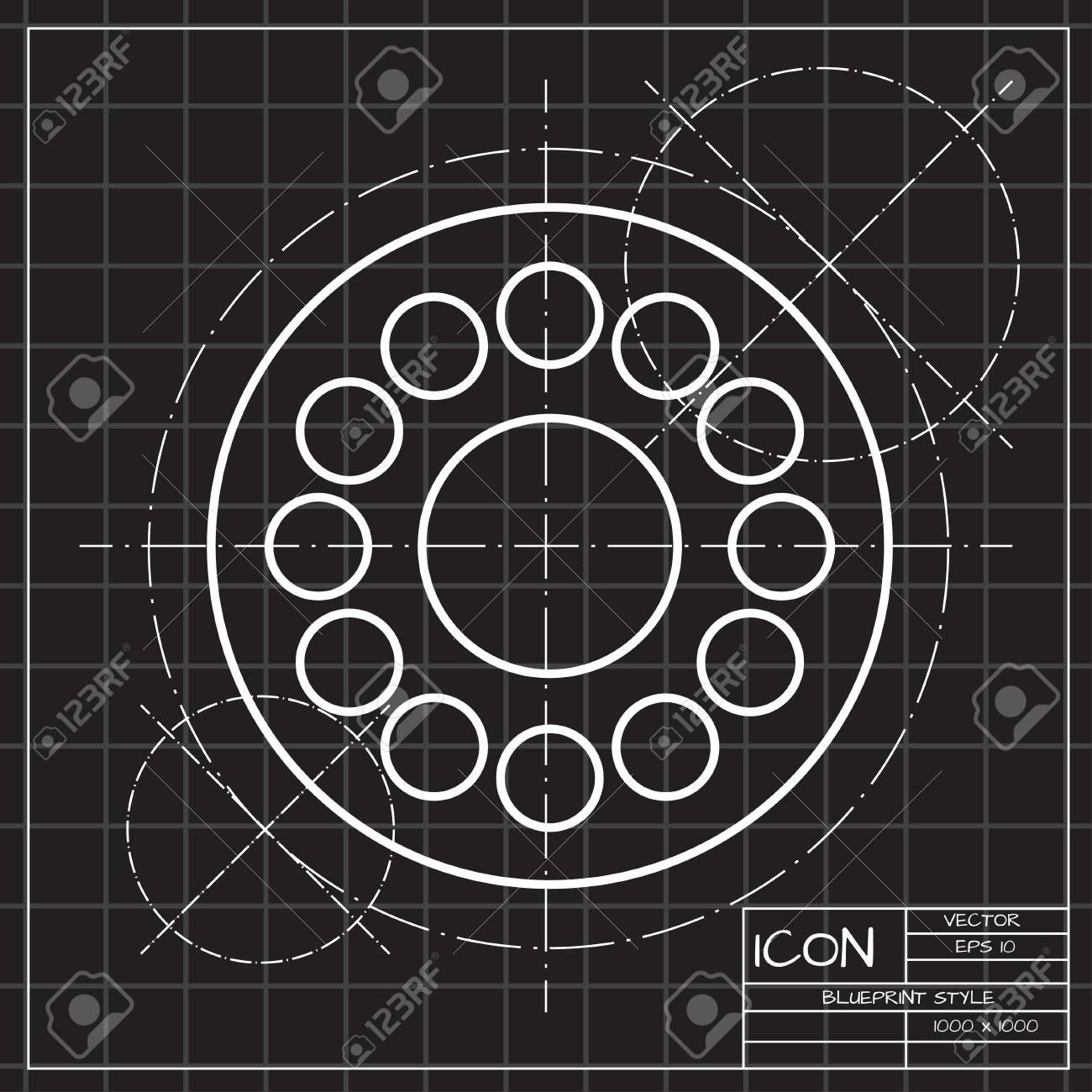 Vector Einfache Hand Spinner-Symbol. Abbildung Des Geschäfts. Lager ...