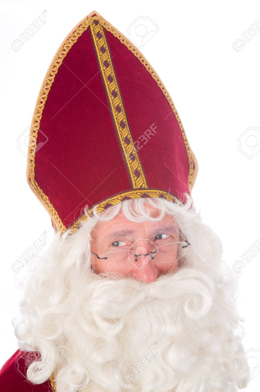Portrait of Sinterklaas, a Dutch tradition which is celebrated at December 5th. Stock Photo - 7845909