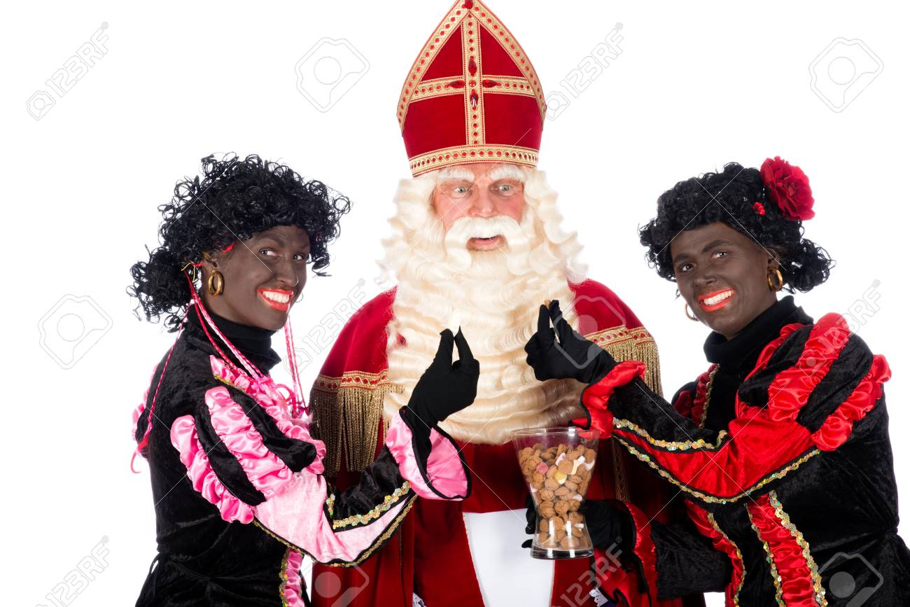 Beroemd Zwarte Piet (Black Pete) Is A Character, Part Of A Dutch Tradition #RS05