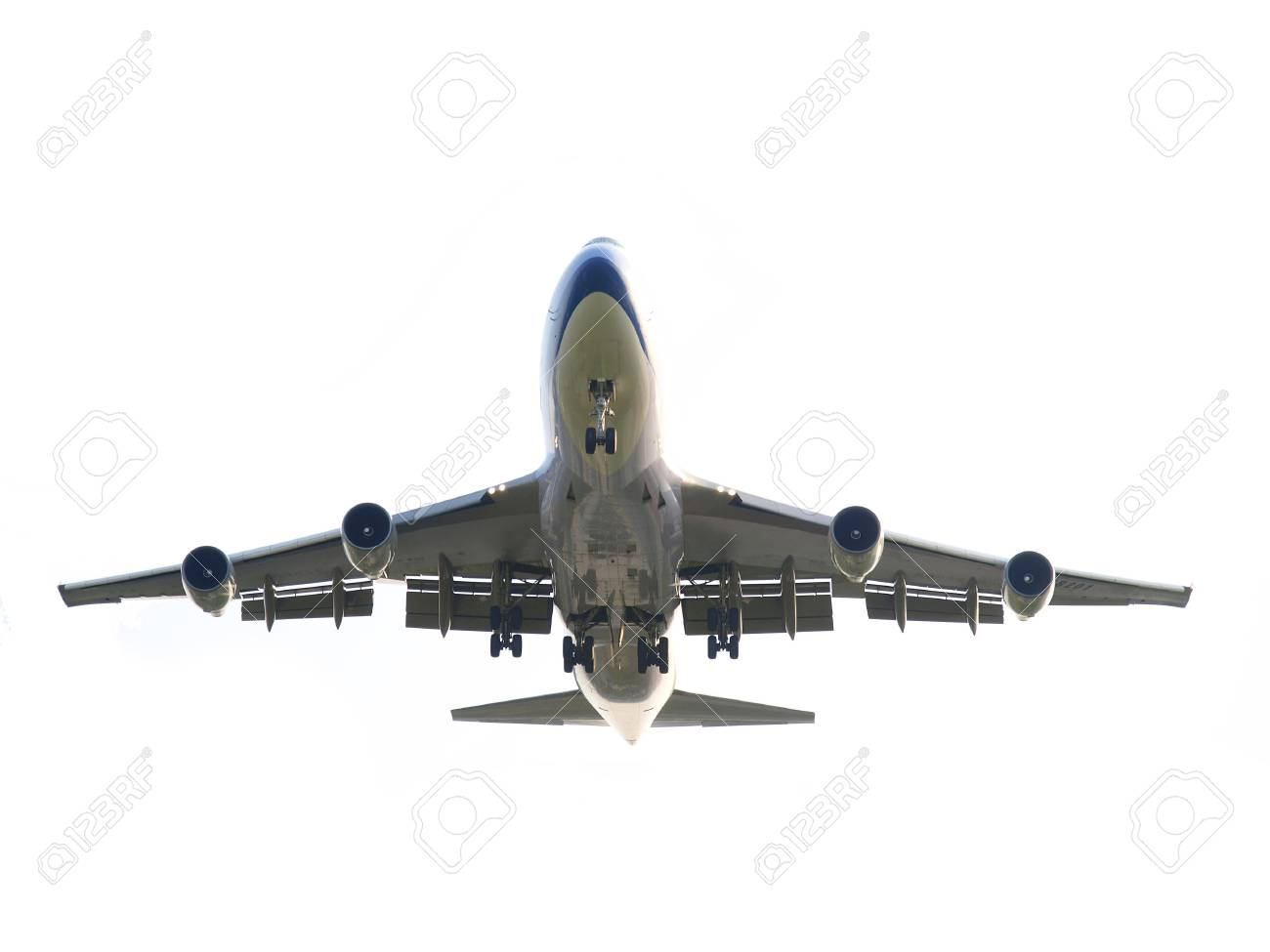 Isolated airplane Stock Photo - 9521262