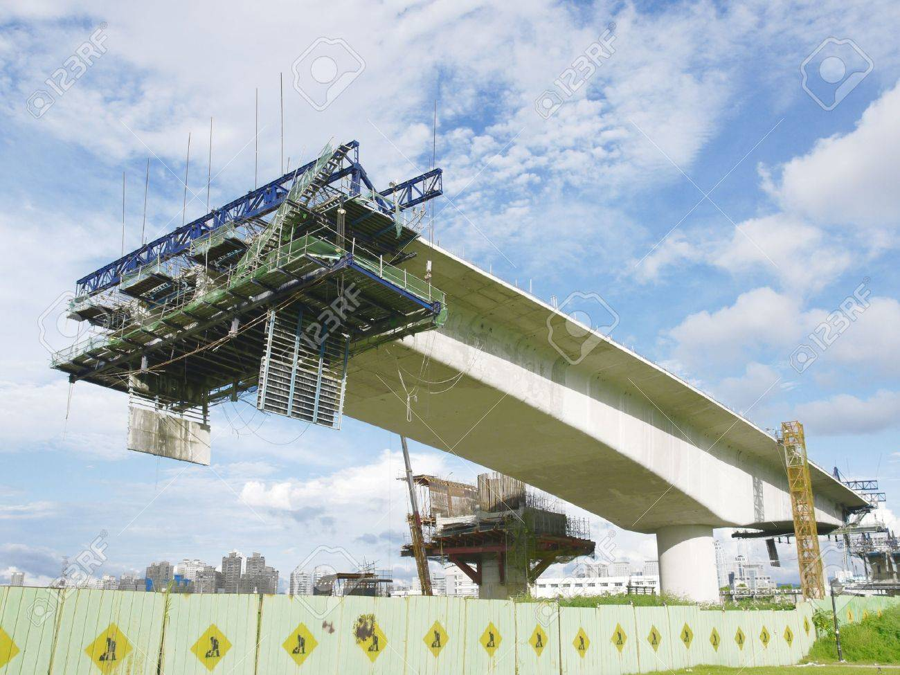 Bridge under construction Stock Photo - 12777219