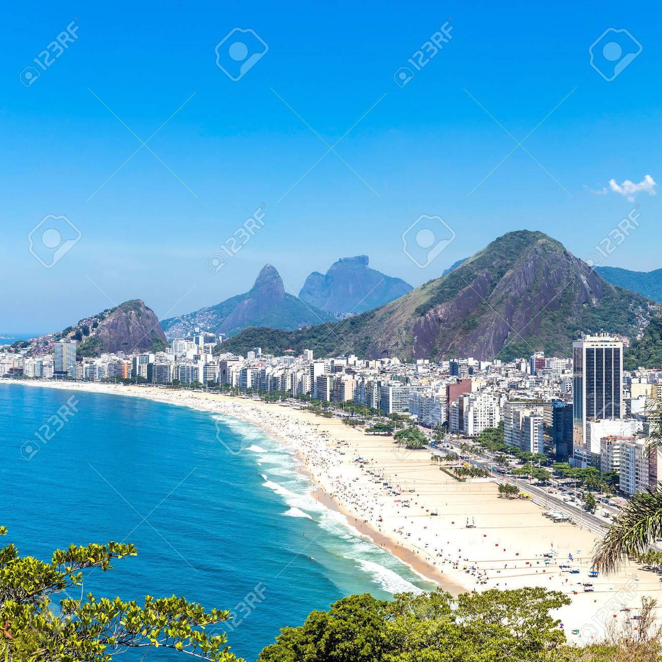 Пляж копакабана в рио-де-жанейро фото девушек