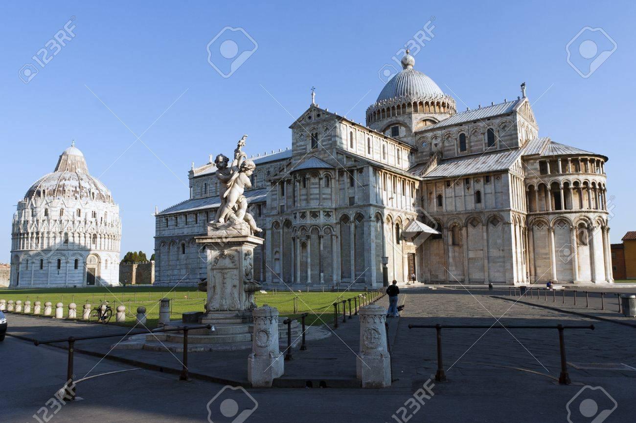 View of Piazza dei Miracoli Pisa Stock Photo - 10060318