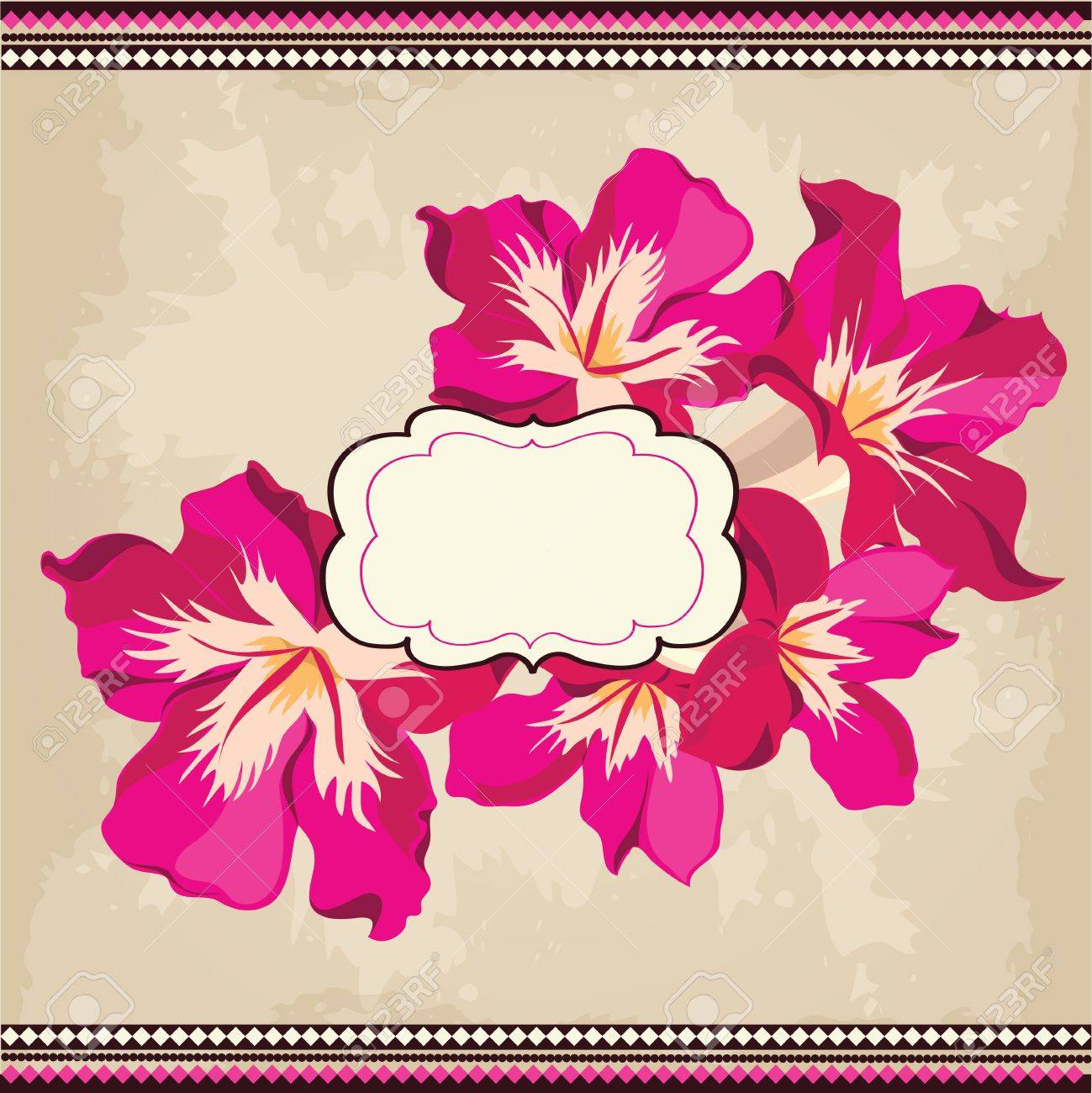 Beautiful floral pattern.Spring background Stock Vector - 18512944