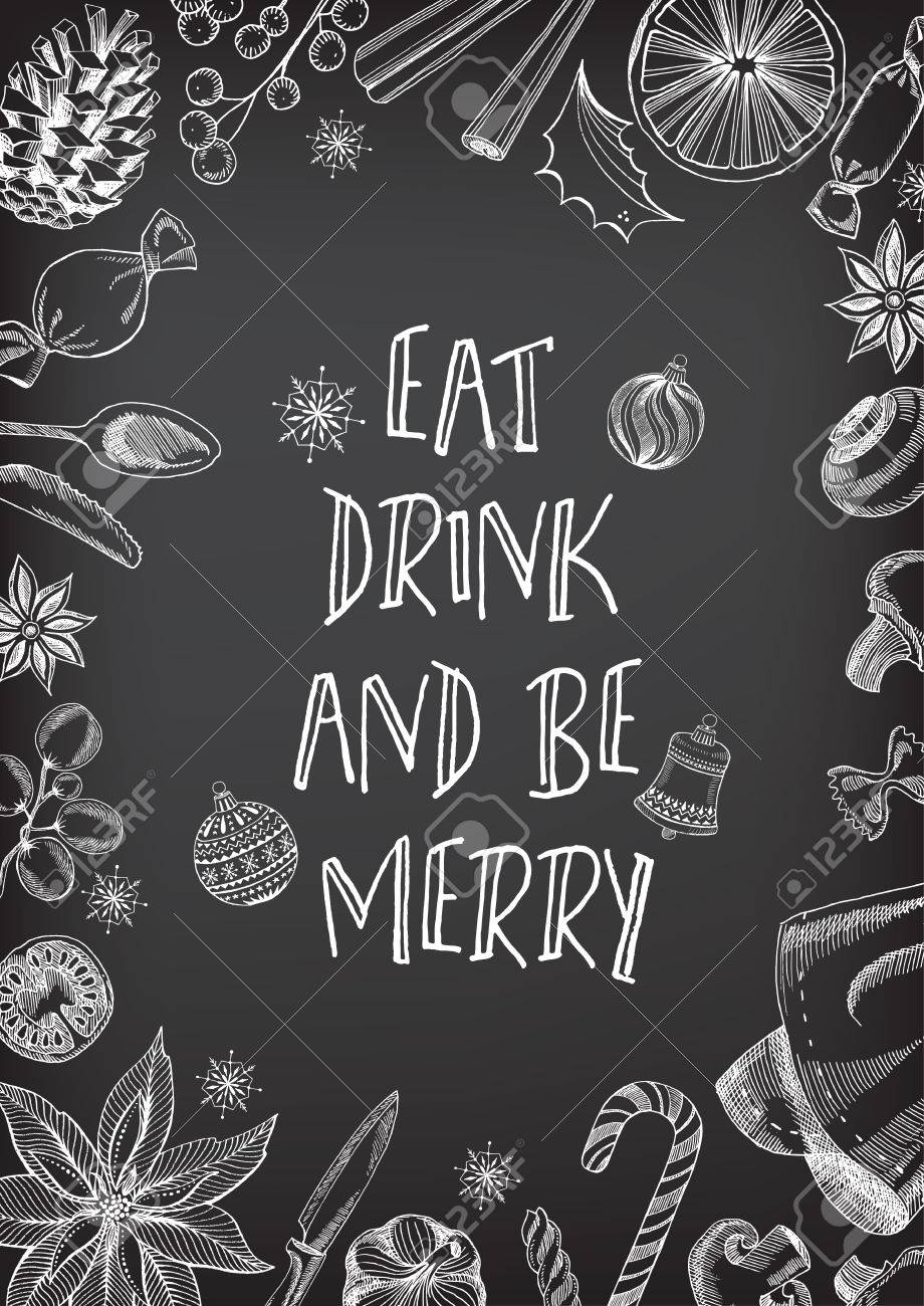 Christmas party invitation restaurant menu design vector template christmas party invitation restaurant menu design vector template with graphic stock vector stopboris Images
