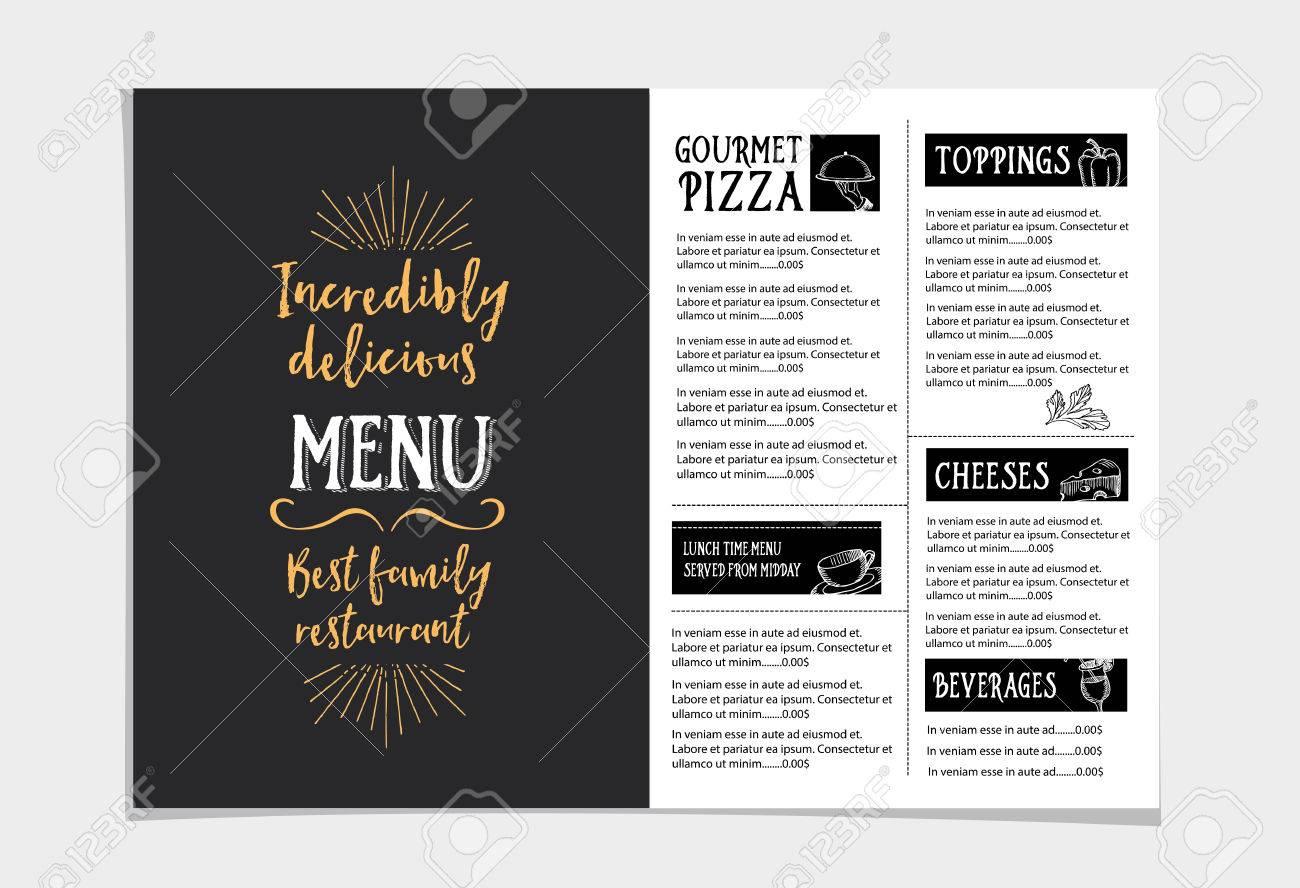 Berühmt Beispiel Restaurant Broschüre Bilder - Bilder für das ...