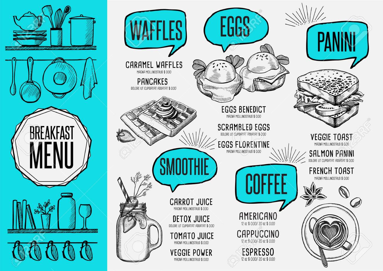 Beste Frühstück Flyer Vorlage Fotos - Beispiel Wiederaufnahme ...